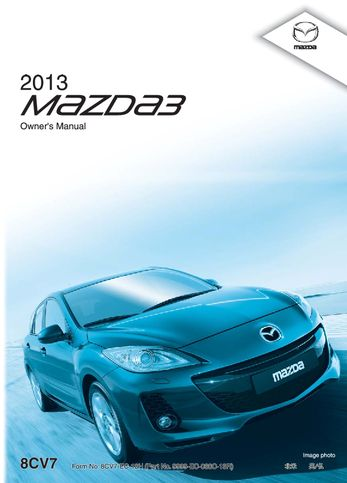 2013 mazda mazdaspeed 3 owner s manual pdf 611 pages rh carmanuals2 com mazda 3 owners manual 2009 mazda 3 owners manual pdf