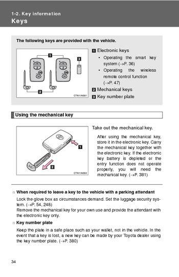 download 2008 toyota camry hybrid key information pdf manual 2 pages. Black Bedroom Furniture Sets. Home Design Ideas