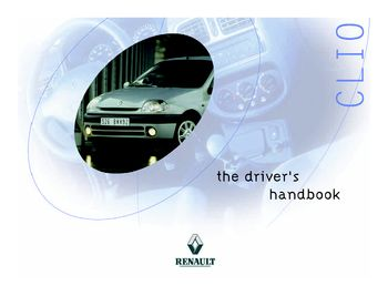 2000 renault clio owner s manual pdf 184 pages rh carmanuals2 com Renault Clio 2000 Interior Renault Clio 2000 Interior