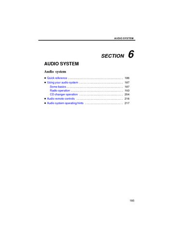2008 toyota camry 2008 camry navigation audio system pdf manual 40 pages. Black Bedroom Furniture Sets. Home Design Ideas