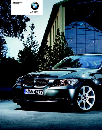 2007 bmw 328xi sedan owner s manual pdf 268 pages