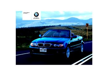 2005 bmw 325ci coupe owner s manual pdf 190 pages rh carmanuals2 com 2005 bmw 325i owners manual pdf 2005 bmw 325i repair manual download