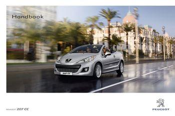 2012 peugeot 207 cc owner s manual rhd uk australia pdf rh carmanuals2 com peugeot 207 user manual pdf peugeot 207 owners manual