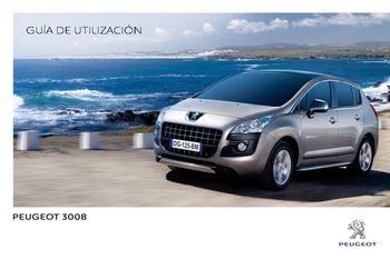 2013 peugeot 3008 manual del propietario in spanish pdf 352 rh carmanuals2 com Peugeot 3008 2015 Peugeot 3008 Interior