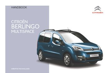 2016 citro n berlingo multispace owner s manual pdf 296 pages rh carmanuals2 com Xsara Picasso Model Citroen Berlingo 2013