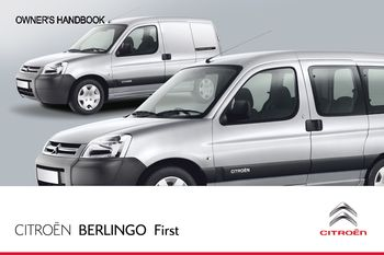 2012 citro n berlingo first owner s manual pdf 128 pages rh carmanuals2 com Citroen Berlingo 1.6 Citroen Berlingo 1