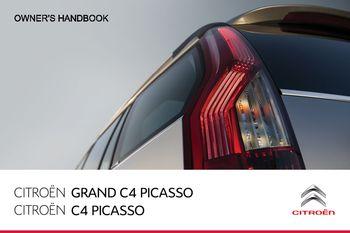 citroen c4 grand picasso 2014 user manual free ebook