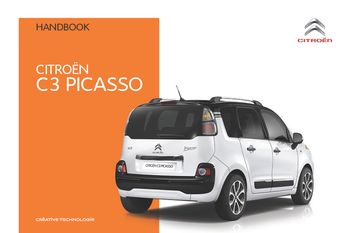2016 citro n c3 picasso owner s manual pdf 292 pages rh carmanuals2 com 2012 Citroen C3 Picasso 2012 Citroen C3 Picasso