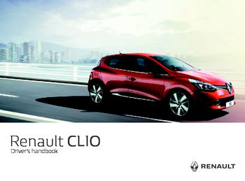 2016 renault clio owner s manual pdf 258 pages rh carmanuals2 com user manual for renault clio dynamique user manual renault clio