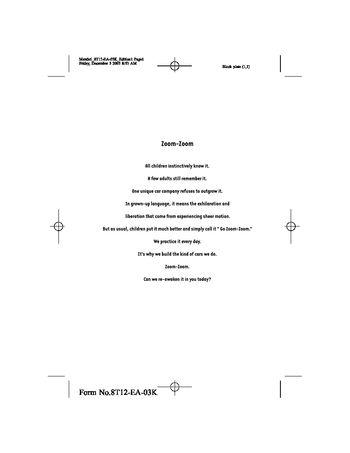 2004 mazda 6 hatchback owner s manual pdf 326 pages rh carmanuals2 com 2004 mazda 6 service manual pdf 2004 mazda 6 service manual