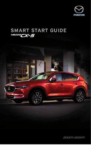 2017 mazda cx 5 smart start guide pdf manual 58 pages rh carmanuals2 com 2016 mazda 6 smart start guide mazda 6 smart start guide