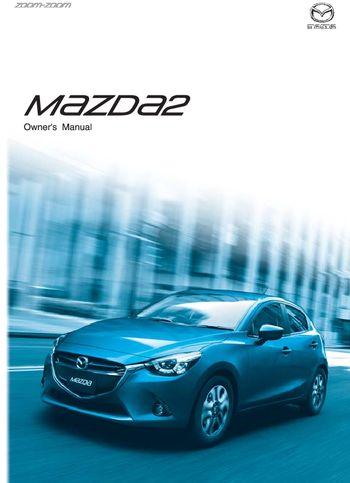2016 mazda 2 owner s manual pdf 645 pages rh carmanuals2 com Mazda Logo Mazda SUV