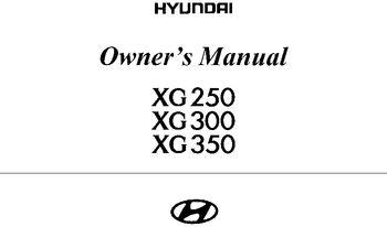 2003 hyundai grandeur owners manual pdf 235 pages 2003 hyundai grandeur owners manual 235 pages fandeluxe Gallery