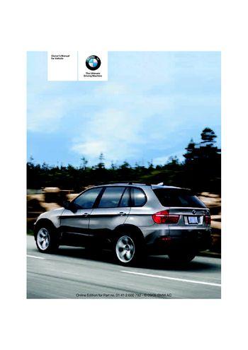 2009 bmw x5 30i xdrive owner s manual pdf 317 pages rh carmanuals2 com 2015 BMW X5 BMW X5 2014 Release Date