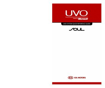 2013 kia soul uvo system quick reference guide pdf manual 31 rh carmanuals2 com Quick Reference Guide Clip Art Excel Quick Reference Guide