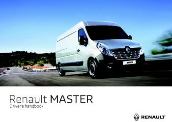 2017 renault master owner s manual pdf 286 pages rh carmanuals2 com renault master owners manual renault master owners manual download