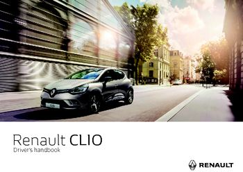 2017 renault clio owner s manual pdf 260 pages rh carmanuals2 com owner's manual renault clio 2002 renault clio user manual 2017