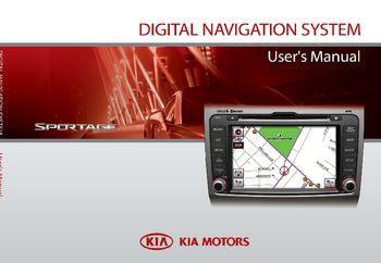 2011 kia sportage digital navigation system user manual pdf 187 rh carmanuals2 com kia rio navigation system manual kia rio navigation system manual