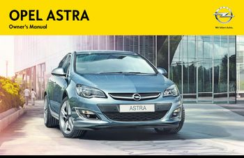2014 opel astra owner s manual pdf 331 pages rh carmanuals2 com Opel Astra Interior Opel Astra 2008