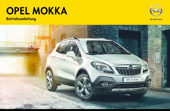 2012 opel mokka betriebsanleitung in german pdf handbuch 223 pages. Black Bedroom Furniture Sets. Home Design Ideas