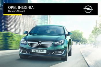 2017 opel insignia owner s manual pdf 327 pages rh carmanuals2 com opel insignia repair manual opel insignia owner manual pdf