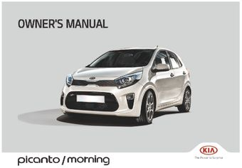 2018 kia picanto owner s manual pdf 504 pages rh carmanuals2 com 2017 Kia Picanto kia picanto owners manual