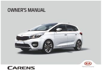 2018 kia carens owner s manual pdf 672 pages rh carmanuals2 com Kia Carens 2014 2017 Kia Carens