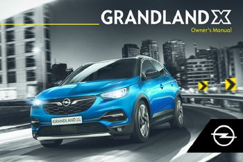 2018 Opel Grandland X Owner S Manual Pdf 265 Pages