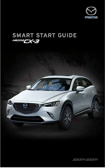 2018 mazda cx 3 smart start guide pdf manual 50 pages rh carmanuals2 com Files or Piles Smart Guides Motorcycles Smart Guide