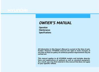2018 Hyundai Elantra Owner S Manual 526 Pages