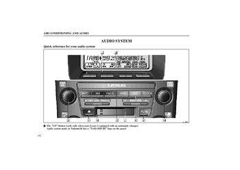 1999 Lexus RX300 - Audio System - PDF Manual (22 Pages)