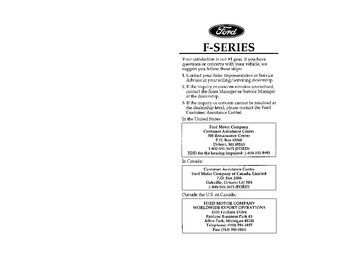 1997 ford f 350 owner s manual pdf 377 pages rh carmanuals2 com 1997 ford f350 owners manual pdf 1994 Ford F-350
