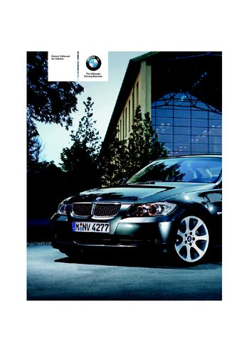 bmw 335i owners manual
