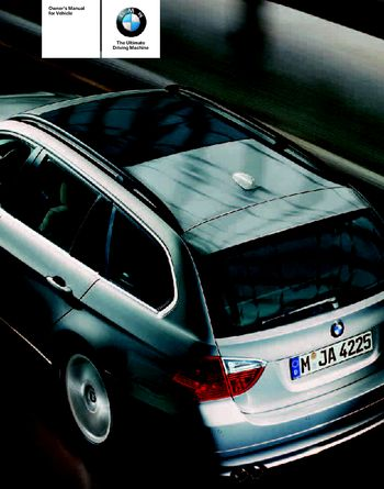 BMW Xi Sports Wagon Owners Manual PDF Pages - 2006 bmw 325xi manual