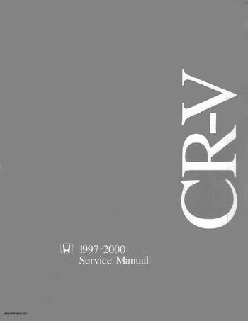 2000 honda cr v service manual pdf 1395 pages rh carmanuals2 com crv service manual 2011 cr v 2016 service manual