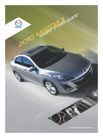2010 mazda 3 smart start guide pdf manual 26 pages rh carmanuals2 com 2013 Mazda 3 2011 Mazda 3