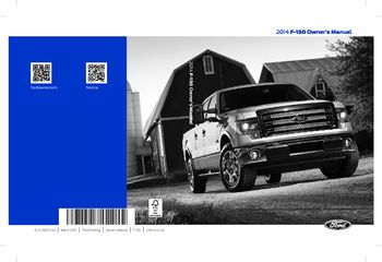 Ford F  Owners Manual  Pages