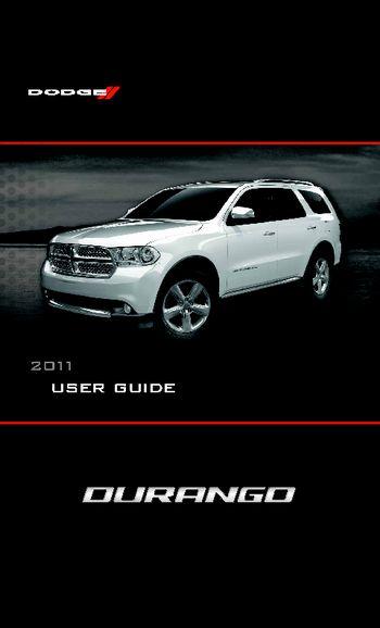 2011 Dodge Durango - Get To Know Guide
