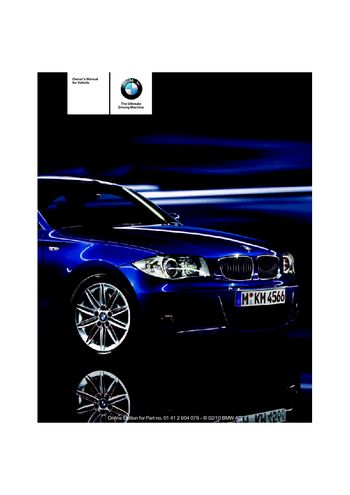 2011 bmw 135i coupe owner s manual pdf 176 pages rh carmanuals2 com 2011 bmw 135i convertible owners manual 2011 bmw 135i convertible owners manual