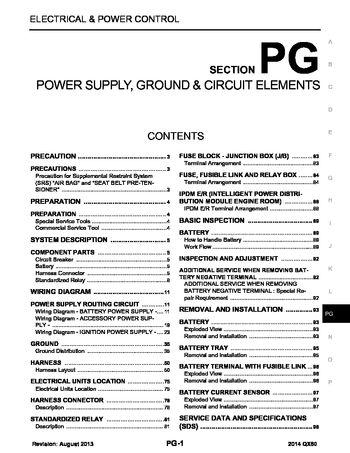 2014 infiniti qx70 fx power supply ground circuit. Black Bedroom Furniture Sets. Home Design Ideas