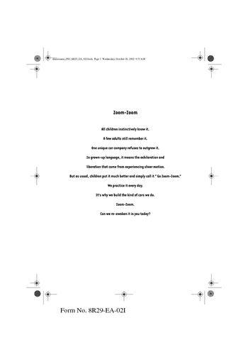 2012 mazda 6 owners manual pdf