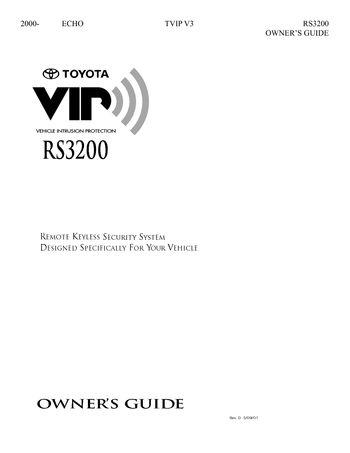 2001 toyota echo repair manual pdf