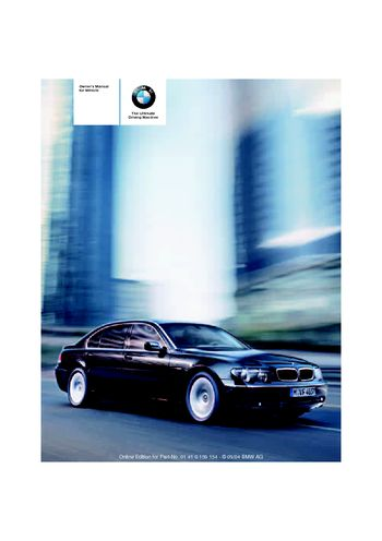 2005 bmw 745li owner s manual pdf 239 pages rh carmanuals2 com bmw 745i manual pdf bmw 745i manual 2004