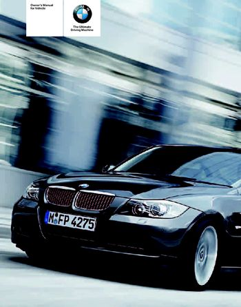 BMW I Owners Manual PDF Pages - Bmw 325i 2006 manual