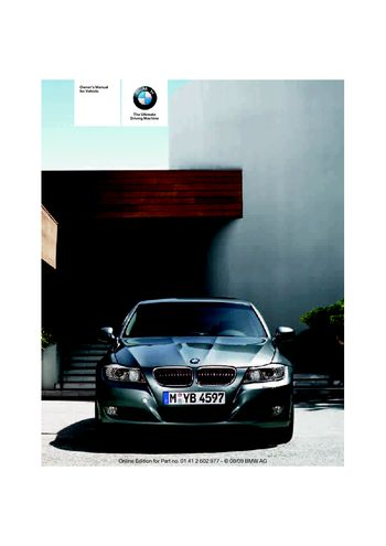 2010 bmw 335d sedan owner s manual pdf 196 pages rh carmanuals2 com bmw 335d service manual bmw 335d service manual
