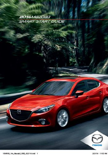 2014 mazda 3 smart start guide pdf manual 46 pages rh carmanuals2 com Smart Guides PowerPoint InDesign Smart Guides