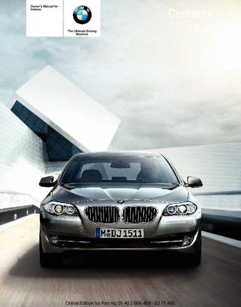 2011 bmw 535i sedan owner s manual pdf 304 pages rh carmanuals2 com 2010 bmw 535i owners manual 2011 bmw 528i owners manual pdf