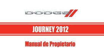 2012 dodge journey manual del propietario in spanish pdf 453 rh carmanuals2 com 2012 dodge journey manual start 2014 dodge journey manual