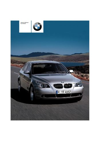 2004 bmw 530i owner s manual pdf 220 pages rh carmanuals2 com bmw 530i 2006 owner's manual bmw 525i user manual