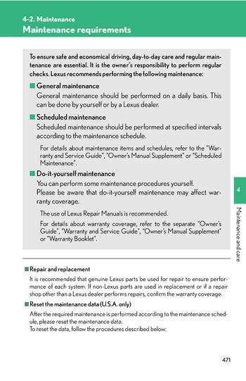 lexus rx 330 owners manual pdf